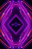 Abstract neon pattern stock illustration