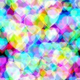 Abstract neon seamless background Stock Photos