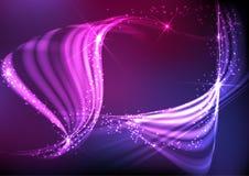 Abstract Neon Waves. Vector Illustration. Eps 10 vector illustration