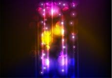 Abstract neonmalplaatje als achtergrond Royalty-vrije Stock Afbeeldingen
