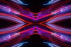 Abstract neonpatroon stock illustratie