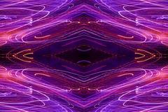 Abstract neonpatroon vector illustratie