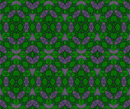 Abstract netting pattern green and dark gray Royalty Free Stock Photos