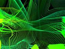 Abstract netwerk stock illustratie