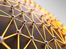 Abstract netwerk Royalty-vrije Stock Afbeelding