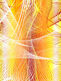Abstract network. Chaos waves actions, place for text Royalty Free Illustration
