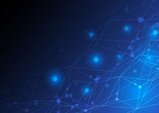 Abstract network concept design Stock Photography