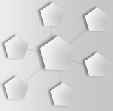 Abstract network concept. Royalty Free Stock Photo