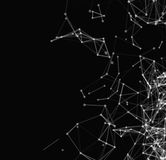 Abstract network connection background Royalty Free Stock Image