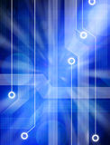 Abstract Network Technology Circuit Background Royalty Free Stock Photography