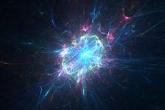 Abstract neutron star background Stock Images