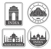 Abstract New Delhi Royalty Free Stock Images