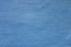 Abstract new denim blue jeans texture Stock Photos