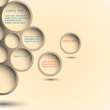 Abstract new design bubble Stock Images