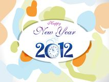 Abstract new year background Stock Photo