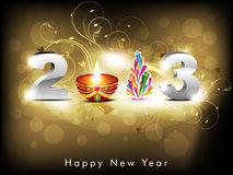 Abstract new year background Royalty Free Stock Photography