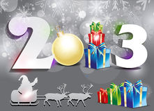 Abstract new year background Royalty Free Stock Image