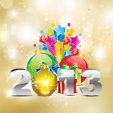 Abstract new year background Royalty Free Stock Photo