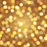 Abstract New Year background with defocused night lights. Vector.  Royalty Free Stock Image