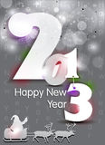 Abstract new year background with sparkle Royalty Free Stock Photos