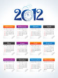Abstract new year calender Royalty Free Stock Photos
