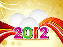 Abstract new year concept. Illustration Royalty Free Stock Image