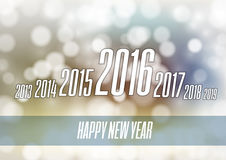 Abstract New Year 2016. New Year 2016 - abstract modern design layout Royalty Free Stock Image