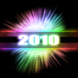 Abstract New Year Technology Background. New Year Technology Abstract Background Stock Illustration