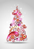 Abstract New-year Tree Stock Image