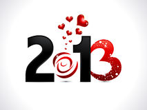 Abstract new year wallpaper Royalty Free Stock Photos