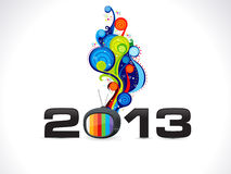 Abstract new year wallpaper Royalty Free Stock Images