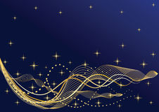 Abstract night background. Royalty Free Stock Images