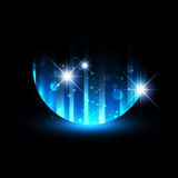 Abstract Night Background Royalty Free Stock Image