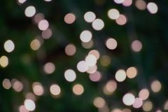 Abstract night blurred bokeh and blur of light background. royalty free stock photo