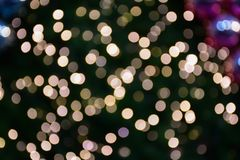 Abstract night blurred bokeh of light background. Out of focus bokeh stock photo