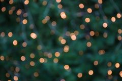Abstract night blurred bokeh of light background. Out of focus bokeh royalty free stock image