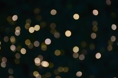 Abstract night blurred bokeh of light background. Out of focus bokeh stock photography