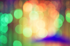 Abstract night bokeh background. Royalty Free Stock Images