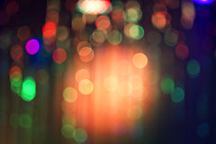 Abstract night bokeh background. Royalty Free Stock Image