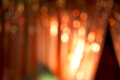 Abstract night bokeh background. Royalty Free Stock Photo