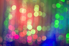 Abstract night bokeh background Stock Photography