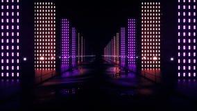 Abstract night city stock illustration