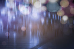 Abstract night city Stock Photography
