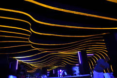 Abstract night club Stock Image