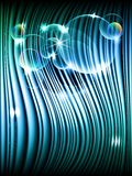 Abstract night effect, vector Royalty Free Stock Image