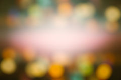 Abstract night  light Bokeh, blurred background. Stock Photo