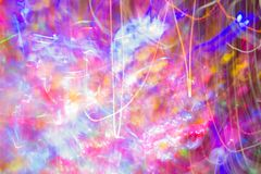 Abstract night light color speed ,color party style.  royalty free stock photography