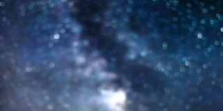 Abstract night sky bokeh background, starry night bokeh. Abstract night sky royalty free stock image