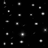 Abstract night theme stock illustration