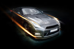 Abstract Nissan GT-R Stock Photography